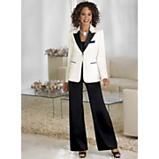 Plus-Size Pant Suit