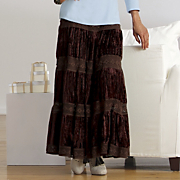 Plus-Size Artsy Skirt