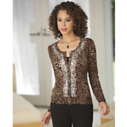 Sequin Animal Sweater