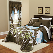 bedspread sham pillow valance and panel pair