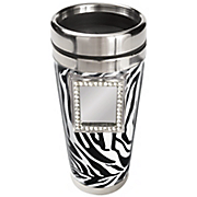 Zebra Travel Mug