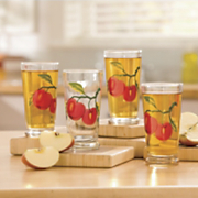 Glasses Apple Set Of 4