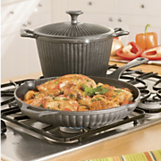 GinnyS Brand Cast Iron Cookware 3 Pc Set