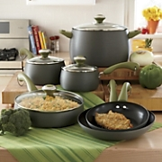 Paula Deen Hard Anodized Nonstick Cookware 10 Pc Set