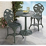 3 pc palm bistro set