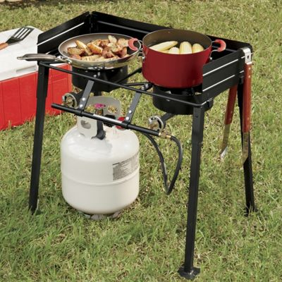 Double Burner Outdoor Stove