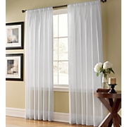 Curtain Panel, Weathershield Semi-Sheer