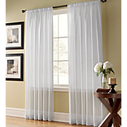 Curtain Panel Weathershield Semi Sheer
