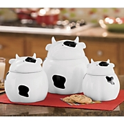 Set of 3 Animal Canister Set