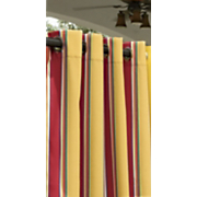 haliwell stripe outdoor curtain panel
