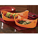 Bubble and Brown Oval Baker Set By Rachael Ray