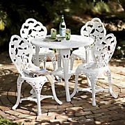 5 pc Rose Bistro Set