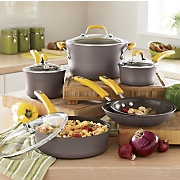 Rachael Ray Hard Anodized Nonstick Cookware 10 Pc Set