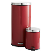 Trash Cans, 2-Piece Set