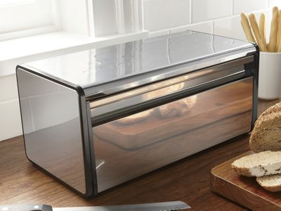 Breadbox Stainless Steel