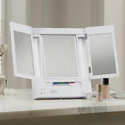 Makeup Mirror, Trifold