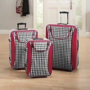 Luggage Houndstooth 3 Pc Set