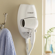 wall mount hairdryer by conair