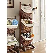 Set Of 3 Ladder Baskets