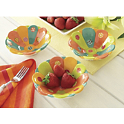 spring brights set of 3 little bowls