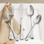 20 pc Stainless Steel Crossett Flatware Set