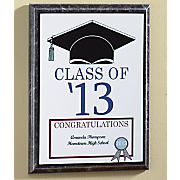 personalized graduation plaque