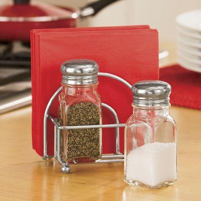 shakers napkin caddy