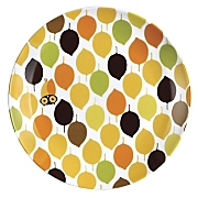 Rachael Ray Salad Plates Little Hoot Set Of 4