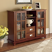 two door buffet cabinet