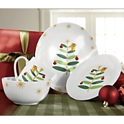 Rachael Ray 16 pc Lil Hoot Dinnerware