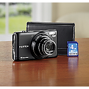 Finepix 16 Mp Camera Bundle By Fujifilm