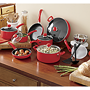 ginny s brand 18 pc essential cookware set