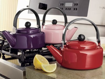 Colored Tea Kettle