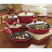 Paula Deens 10 pc Nonstick Aluminum Cookware Set
