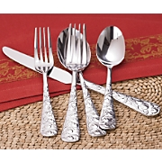 20 Piece Stainless Steel Apple Flatware