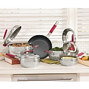 GinnyS Brand 9 Pc Stainless Steel Cookware