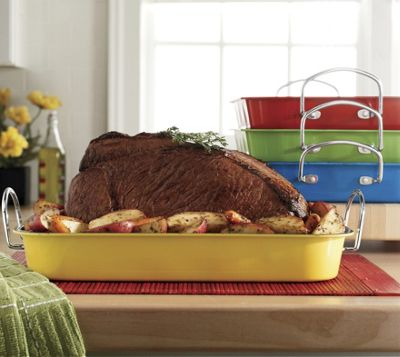 Color Splash Roasting Pan