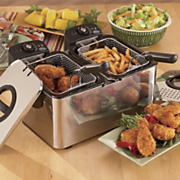 Ginnys Brand Double Deep Fryer