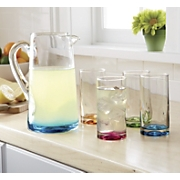 libbey 5 pc glasses and pitcher set