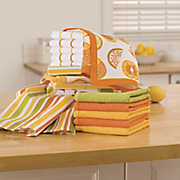 16 pc citrus towel set