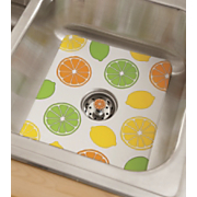 citrus sink mat strainer