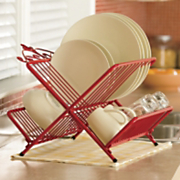 Scrolled Folding Dish Rack