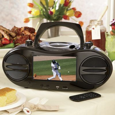 Portable Dvd Cd Player