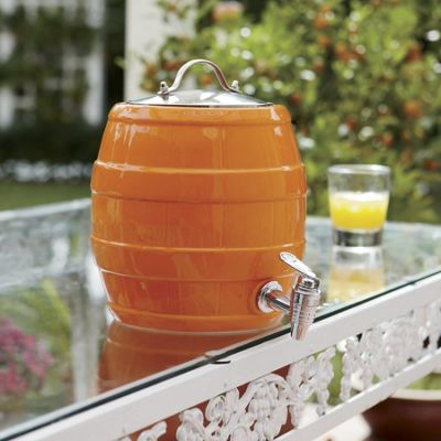 Barrel Beverage Dispenser