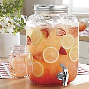 canning jar beverage dispenser