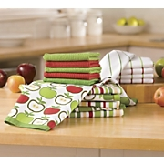 16 pc apple kitchen towel set