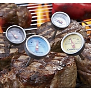set of 4 steak thermometers