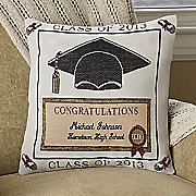 2010 Graduation Pillow
