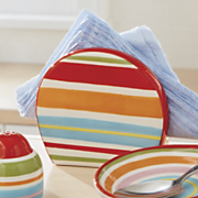 happy stripe napkin holder