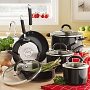 Rachael Ray Cookware Colored Stainless Steel 10 Piece Set